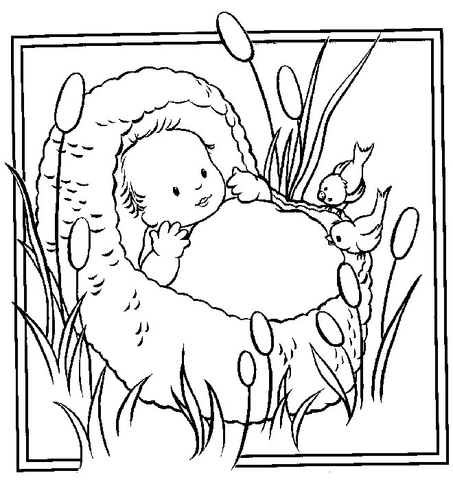 moses coloring pages free - photo#36