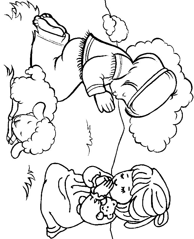 Free preschool coloring pages for christians ~ JESUS PRAYING COLORING PAGES « Free Coloring Pages